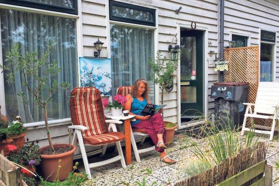 """Laura de Winter: """"Op de fiets ben ik zo in het Haarlemmermeerse Bos."""""""