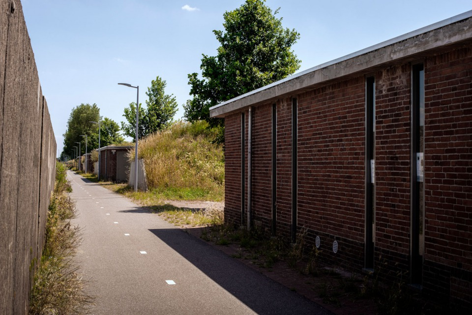 Ateliers langs het fietspad