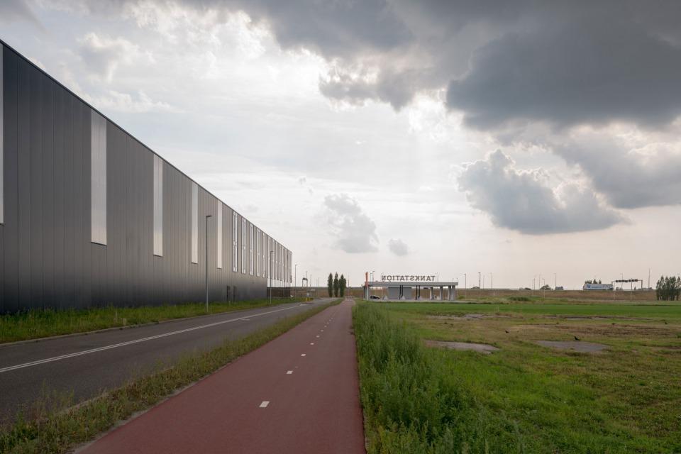 Verdozing van het landschap in Aalsmeer | Foto: Theo Baart
