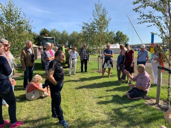 Dirk molenaar vertelt over zijn nieuwe Landgoed Kleine Vennep