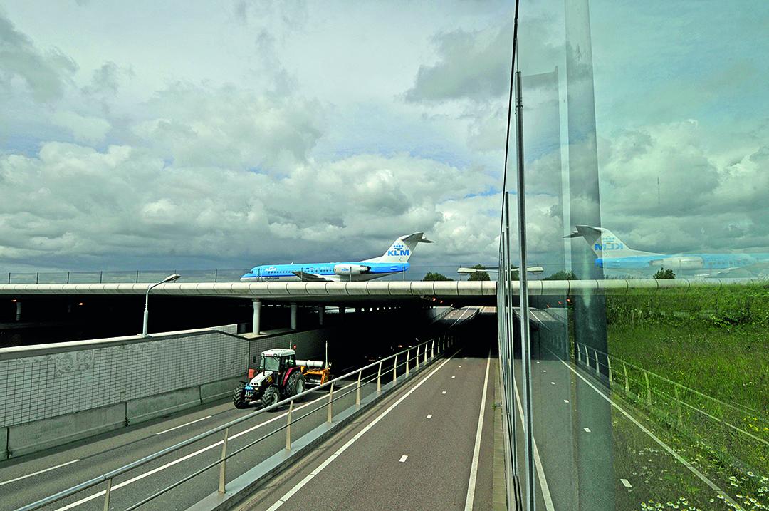 De luchthaven | Foto: Kees van der Veer