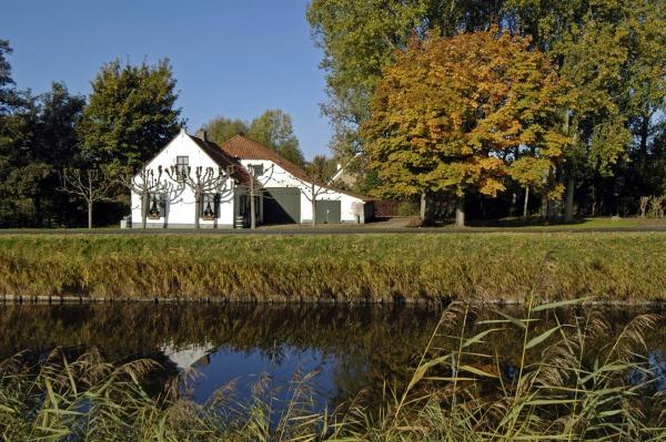 De Witte Boerderij, depot van het museum en ontmoetingsruimte voor vrijwilligers