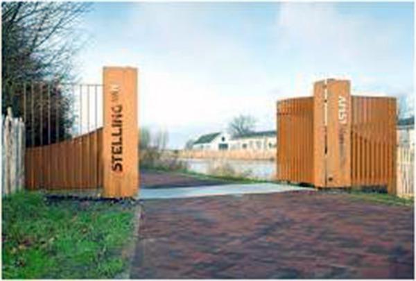 Entree Fort bij Aalsmeer
