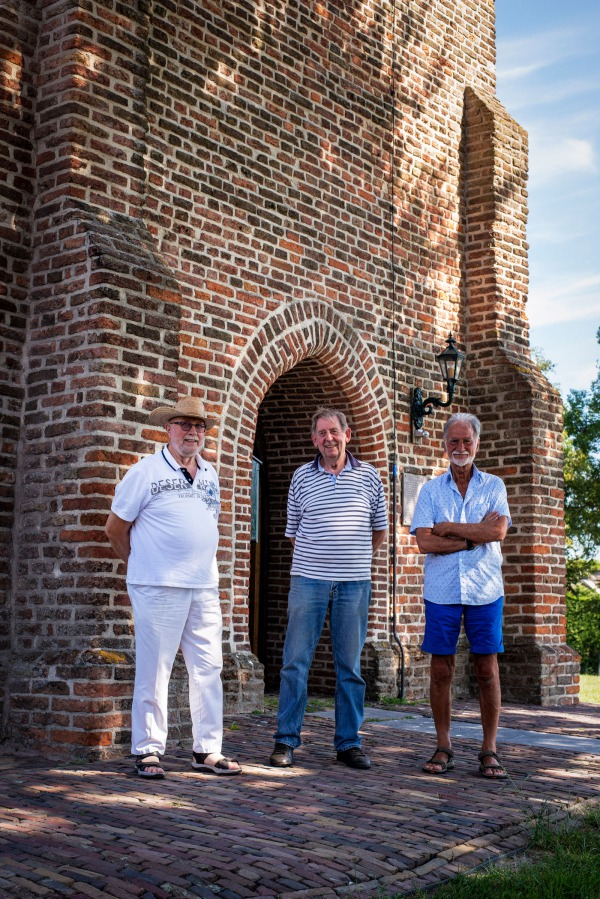 Henk Koelman, Ruud van Dobben en Nico Kooij, Stichting Vrienden van de Stompe Toren