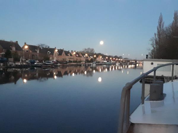 Uitzicht op de Ringvaart van de Haarlemmermeerpolder