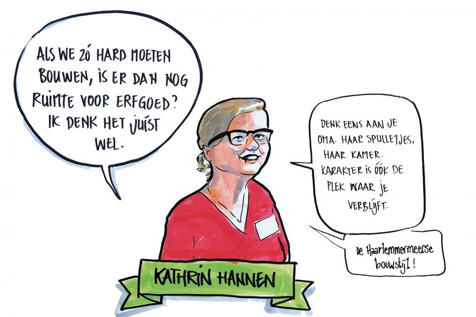 Getekend Verslag, Kathrin Hannen