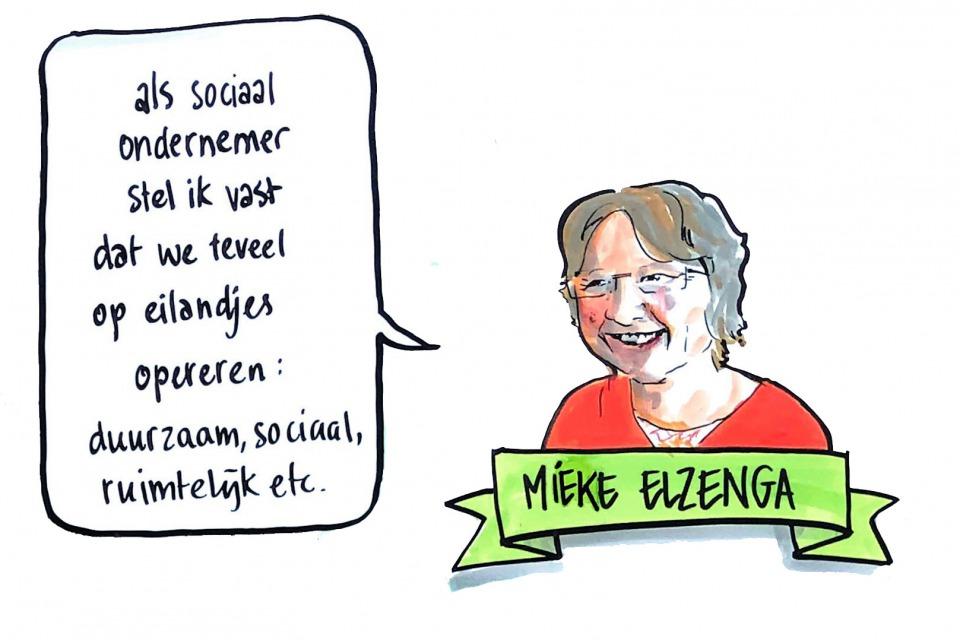 Getekend Verslag, Mieke Elzenga