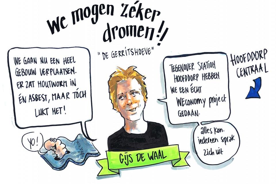 Getekend Verslag, Gijs de Waal