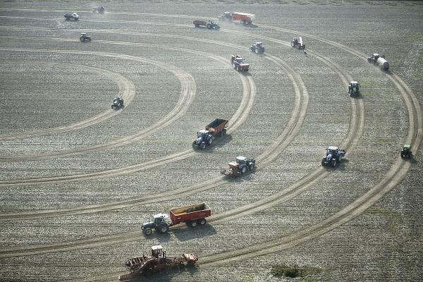 Tractordans 2014, Foto: Thomas Lenden